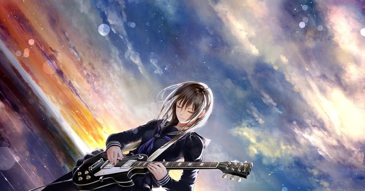 27 Cool Music Anime Hd Wallpaper Anime Character Anime Music Original Characters Guitar Download In 2020 Anime Wallpaper Cool Anime Wallpapers Hd Anime Wallpapers