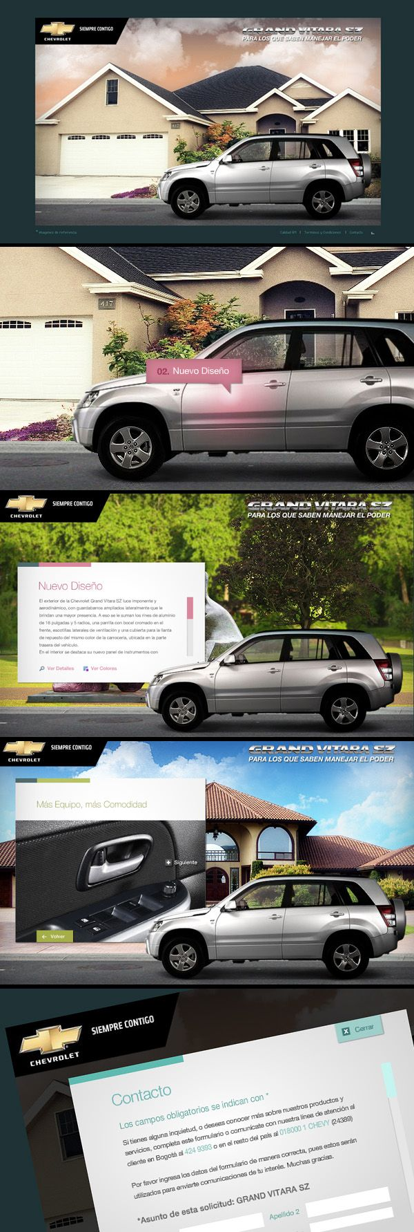 Chevrolet Grand Vitara by Guillermo Vaccarezza, via Behance