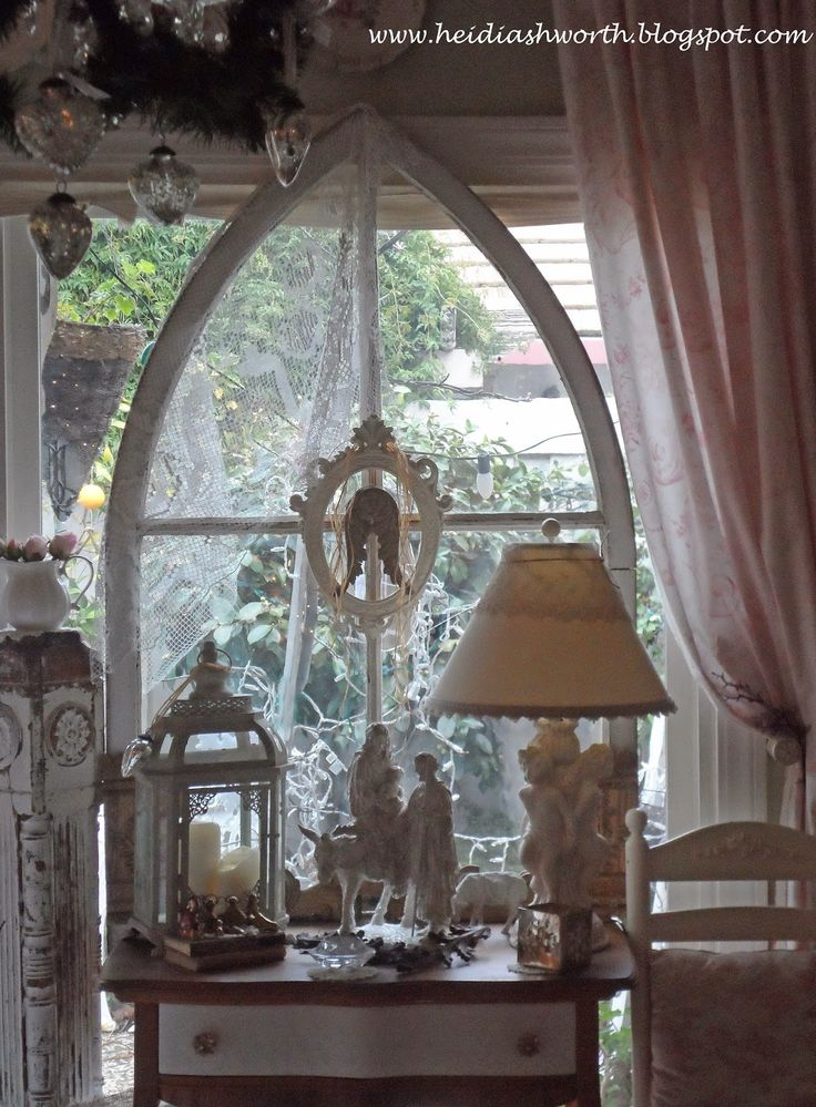 Christmas Decorations At Haskins : Images about shabby garden style on