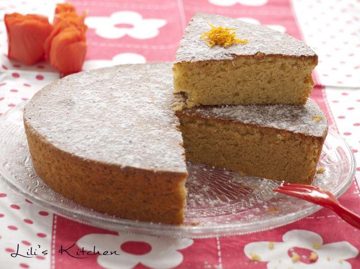 Gâteau orange/amande à la farine de pois chiche de Mlle PIGUT