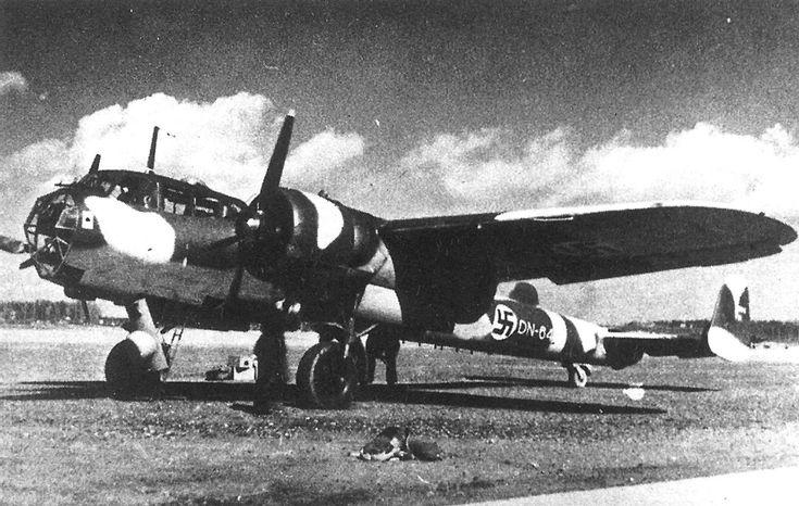 Dornier Do 17Z 3 Finnish Air Force WNr 2622 5M+L DN 64 Finland 1941