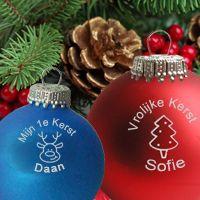 Kerstbal met naam #kerst