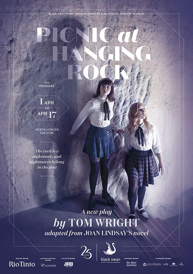 Picnic at Hanging Rock. 2016 Season Poster Design for Black Swan State Theatre Company by Dessein, Australia