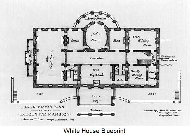 White house 640 456 pixels painting for House plan printing