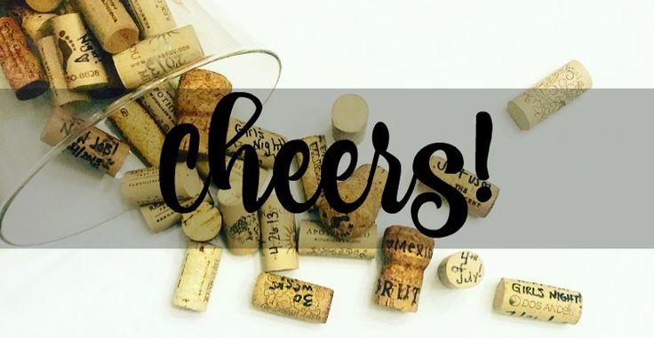 Cheers! Fun + Simple - DIY Cork Memory Jar - www.spreadtheyay.com