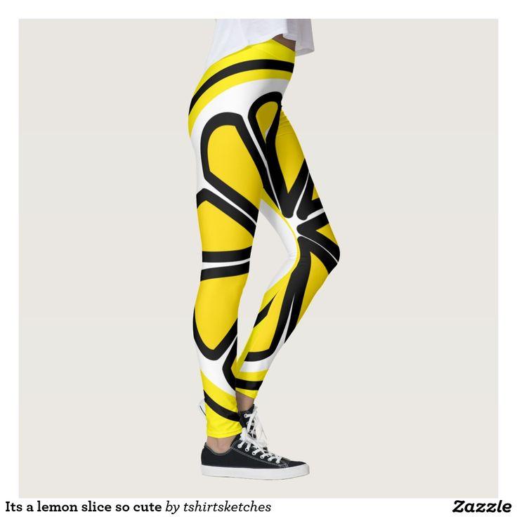 Its a #lemon #slice so cute #legging
