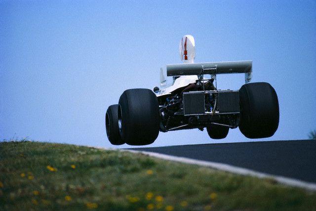 James Hunt - 1975 @ Nurburgring