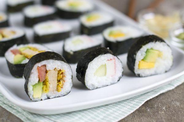 Zelf sushi maken recept