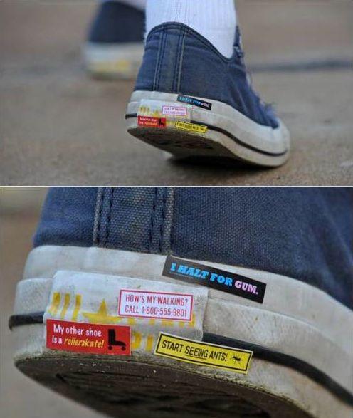 Sneaker Bumper Stickers