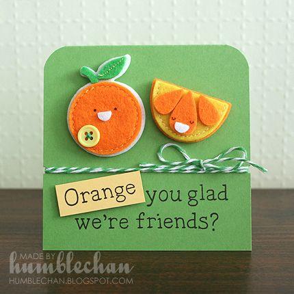 Tarjeta naranja