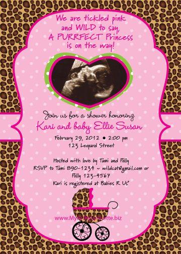 best  cheetah baby showers ideas on   pink leopard, Baby shower