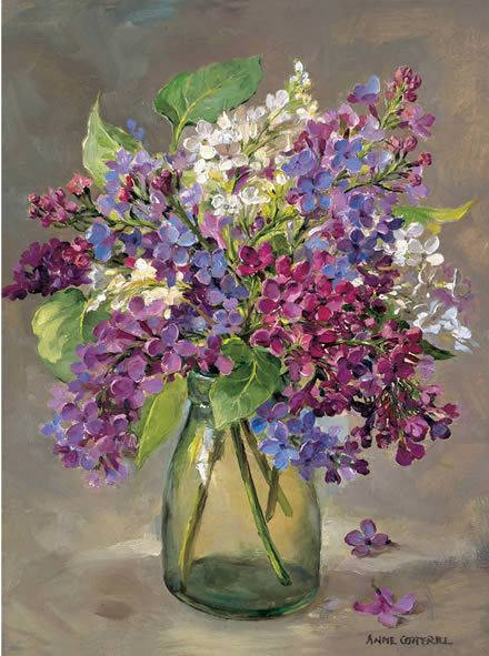 Lilac | Mill House Fine Art – Publishers of Anne Cotterill Flower Art