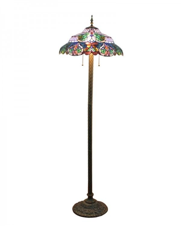purple dining rooms tiffany floor lamps glass floor lamp stained glass. Black Bedroom Furniture Sets. Home Design Ideas