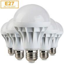 E27 Bombillas СВЕТОДИОДНЫЕ Лампы SMD 5730 Lamparas Свет 1 Вт 3 Вт 5 Вт 7 Вт 9 Вт 12 Вт 15 Вт Лампада СВЕТОДИОДНАЯ Лампа E27 110 В 220 В Ампулы Свечи Luz Светодиодов
