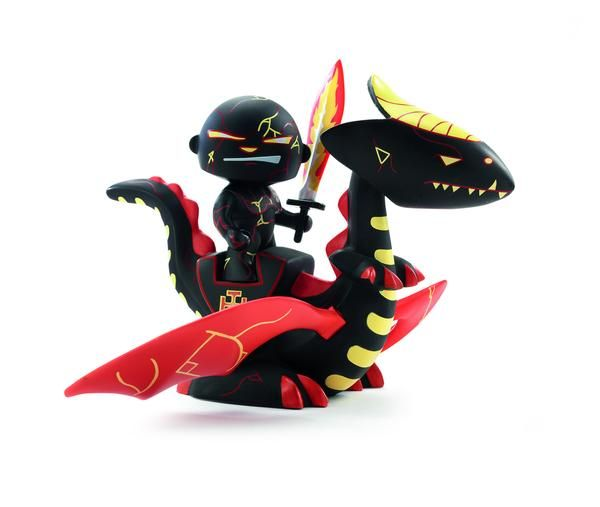 £24.50 DJECO Arty Toys, Volcano and Drago - Volcano and Drago used to be friendly, but when they were hit by lightning whilst flying and crash landed in a volcano this pair gained new powers and became extra mean!
