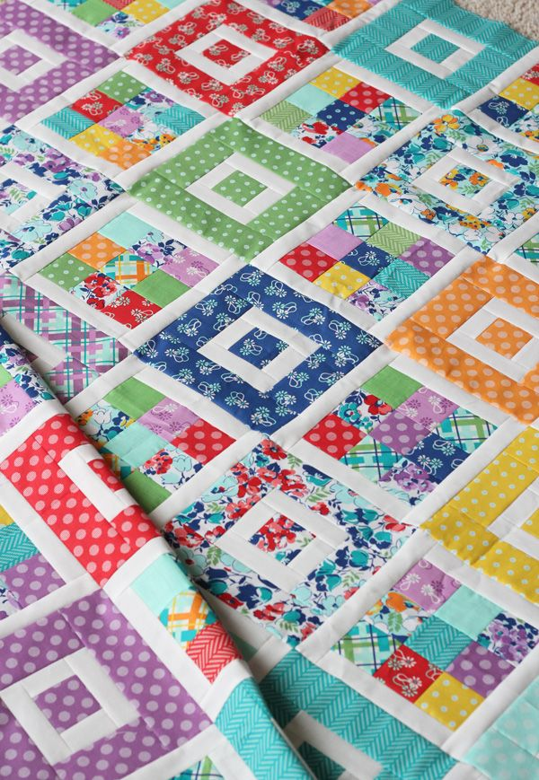 Shortcake Quilt Pattern, Jelly Roll Friendly