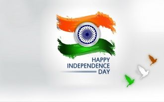 Indian Flag Independence Day August 15th