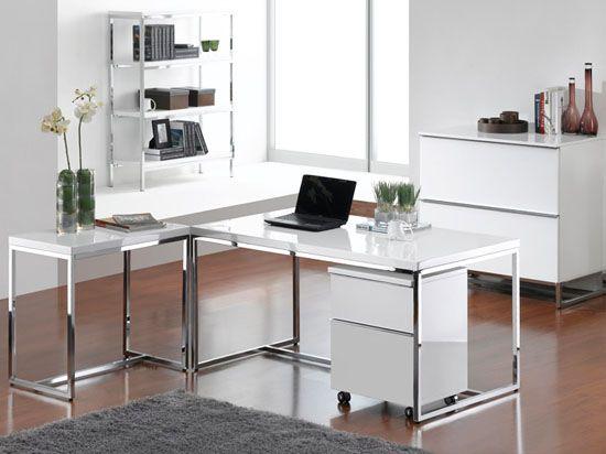 Tate Desk-White