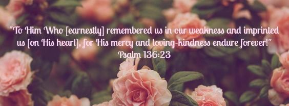 Facebook cover... Psalm 136:23