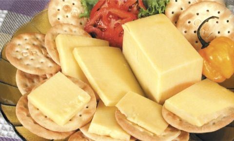 Crix and cheese....like the best memories man! A vital supply from Trinidad and Tobago.