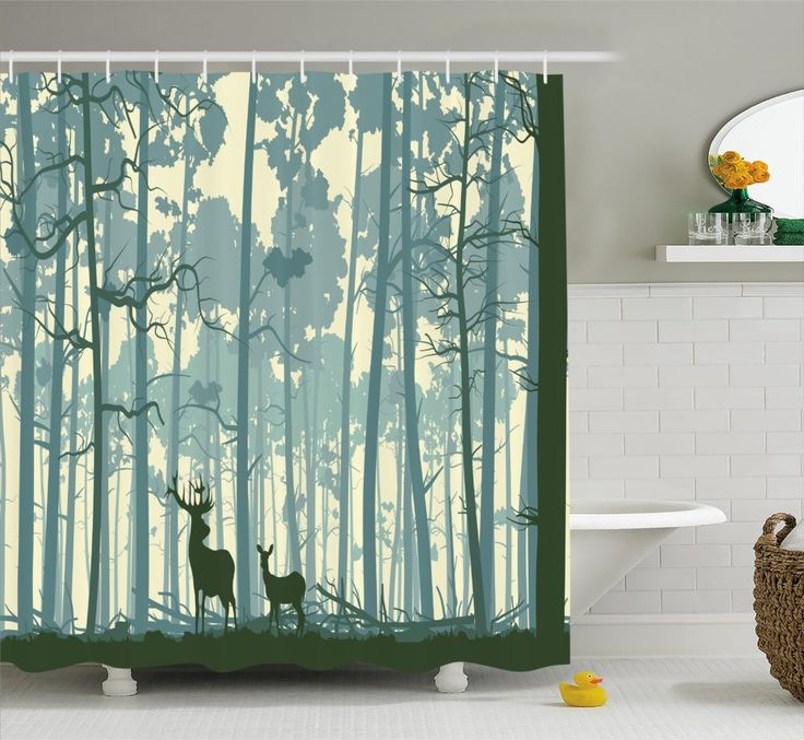 Deer Shower Curtain Sets