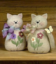 Stuffed Cats <3