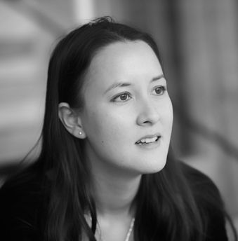 """Maybe holding back / is just another kind // of need. I am a blue / plum in the half-light."" Sarah Howe, Griffin Poetry Prize 2018 judge"