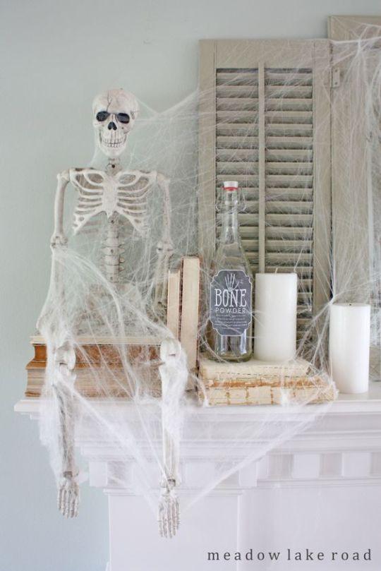 Halloween Decoration Ideas for Your Mantel Boo! Halloween