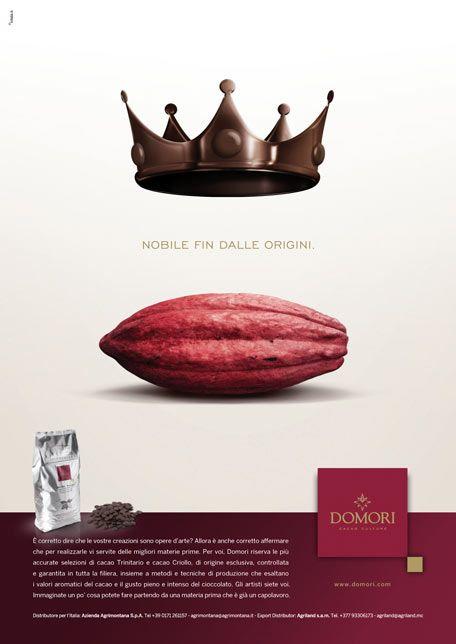 Adv Domori chocolate - Nitida.it Agenzia di Comunicazione