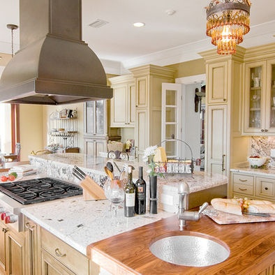 Nice range hood, over an island cooktop. Other Metro Eclectic Kitchen Photos Design, Pictures, Remodel, Decor and Ideas - page 22