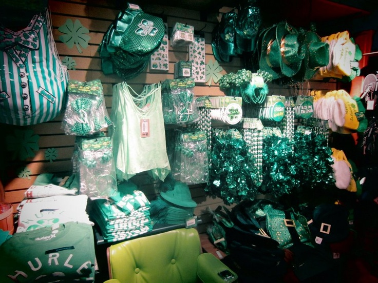Another shot of the St.Patricks day section
