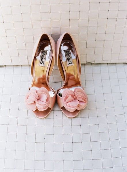 Pink Bridal Shoes lizd7
