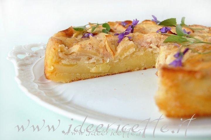 Ricetta Torta di mele cremosa