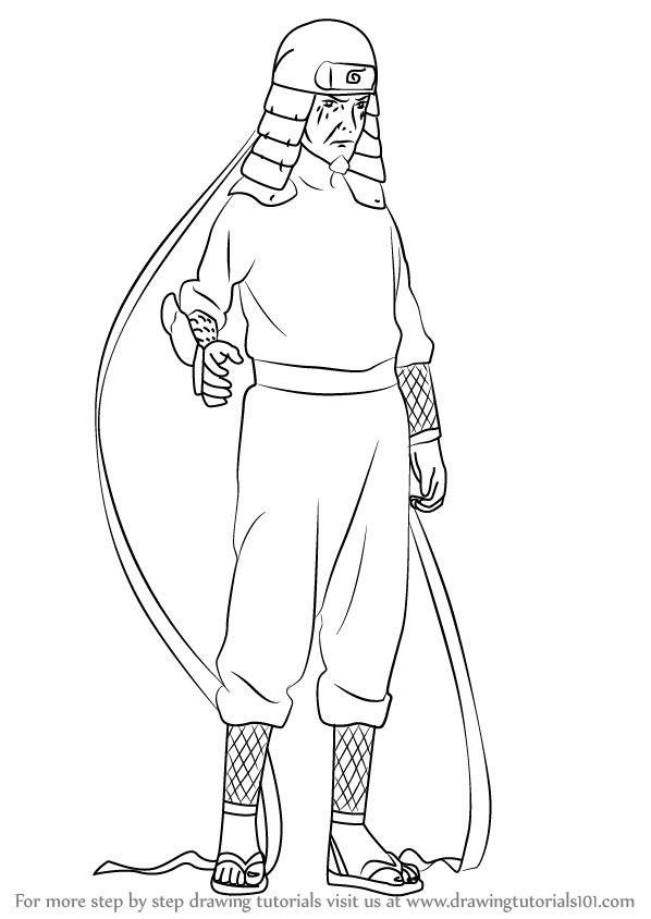 Learn How To Draw Hiruzen Sarutobi From Naruto Naruto