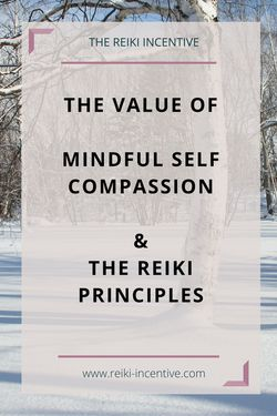 My latest blog post looks at the enormous value of mindful self compassion as part of the fifth reiki principle.  I also talk about using the Hatsurei Ho Japanese Reiki meditation with the reiki principles and make available my guided hatsurei ho meditation as a FREE MP3 download.  Grab it now!