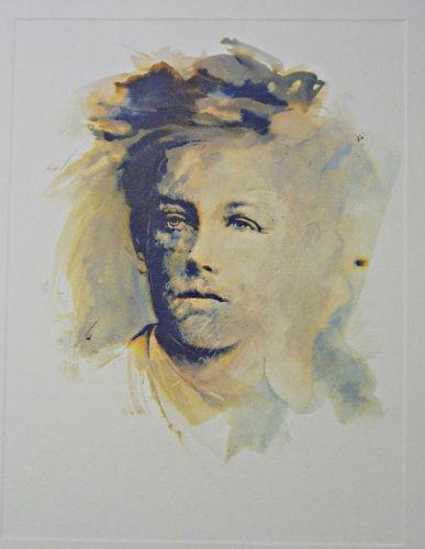 » Arthur Rimbaud par Ernest Pignon-Ernest Librairie Abraxas-Libris