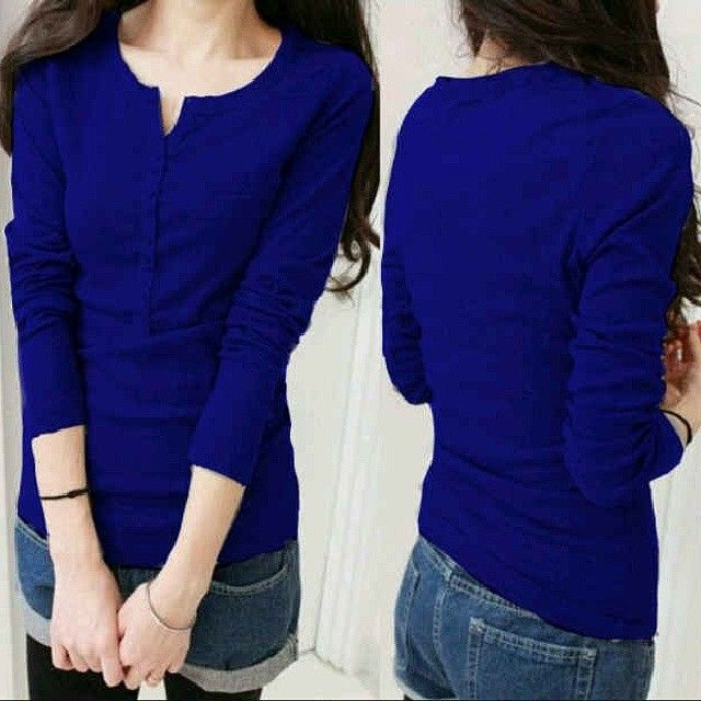 manggo top blue 53rb