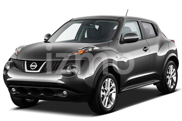 Front three quarter view of a 2011 Nissan Juke SV Suv