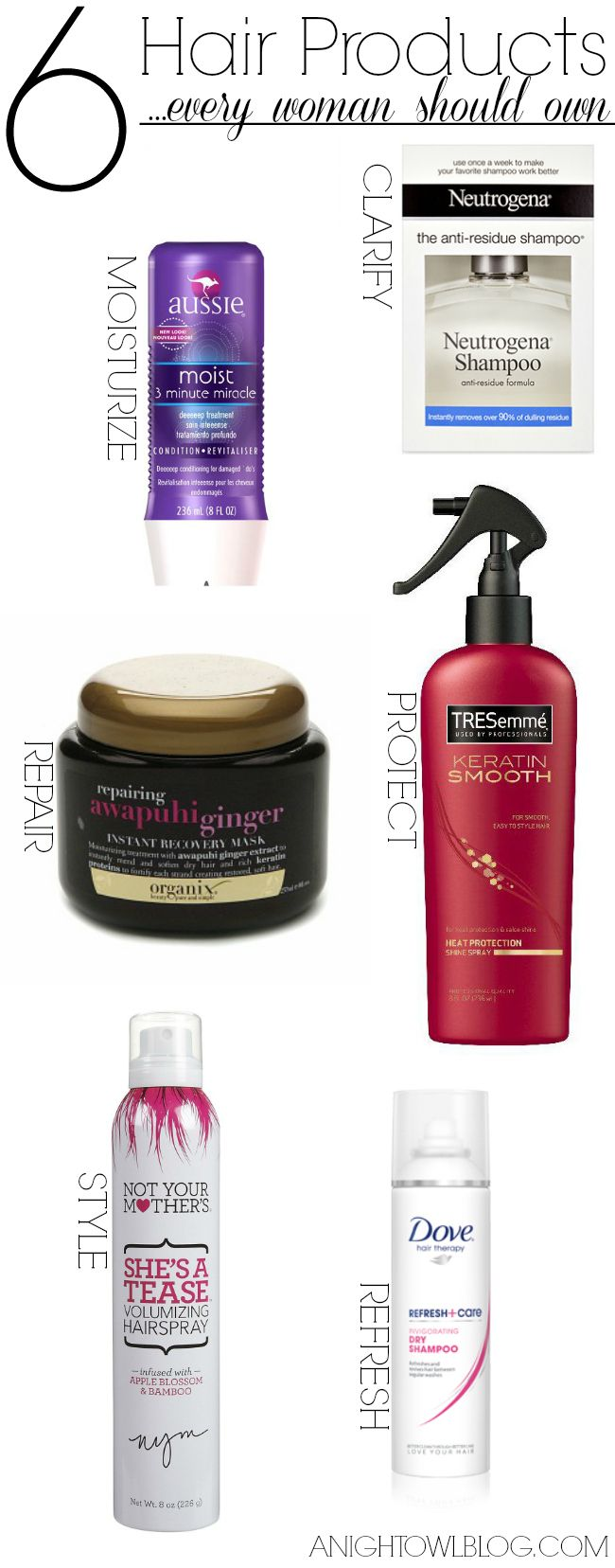 Check out these must have hair products that every woman should own and use!