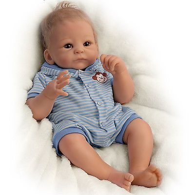 So Truly Real Benjamin Baby Doll By Tasha Edenholm With