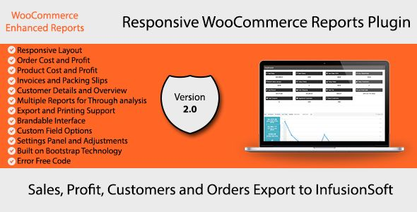 WooCommerce Enhanced Reports by theme_mogul WooCommerce Enhanced Reports is a premium plugin for WooCommerce for enhanced and detailed reports. There are many different criterias predefined by which you can take multiple reports from the plugin in output form. You can take