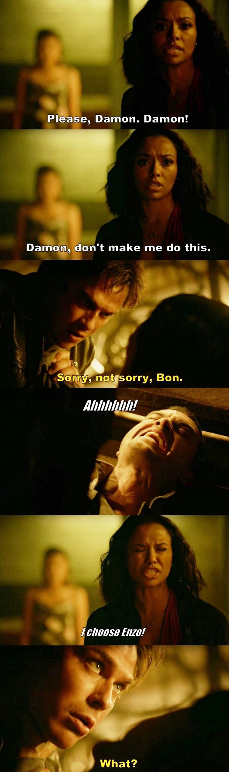 The Vampire Diaries TVD S08E03 - Damon & Bonenzo