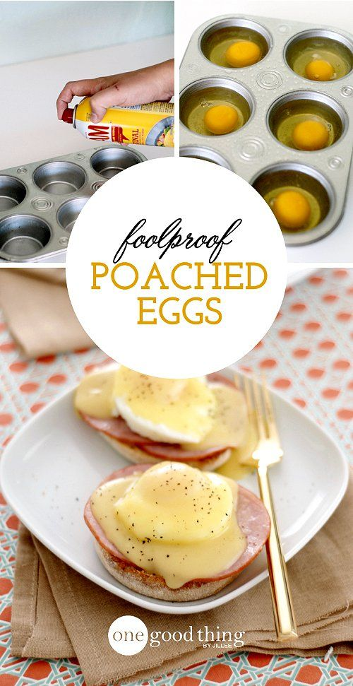 Foolproof poached eggs                                                                                                                                                                                 More