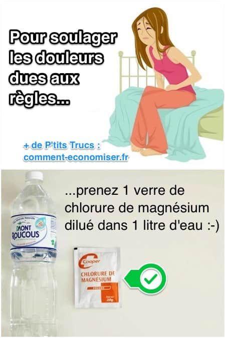 Le Remède Naturel et Efficace Pour Soulager Les Douleurs Des Règles.