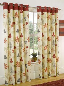 Sundour ROWAN EYELET Ready Made Curtains from Budget Curtains