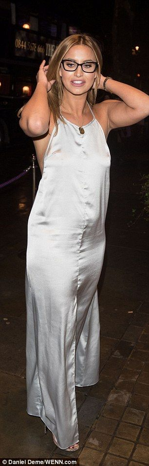 She is hardly the shy and retiring type. So it's not surprising that TOWIE's Ferne McCann managed to wear a floor-length dress and still flash the flesh, this week.