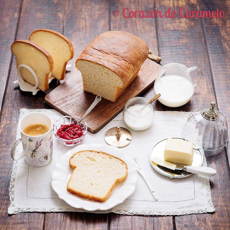 Pan de Molde de Leche y Mantequilla   Receta Casera