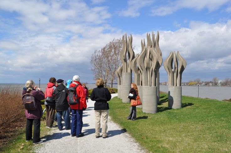 Lachine Museum and sculpture garden
