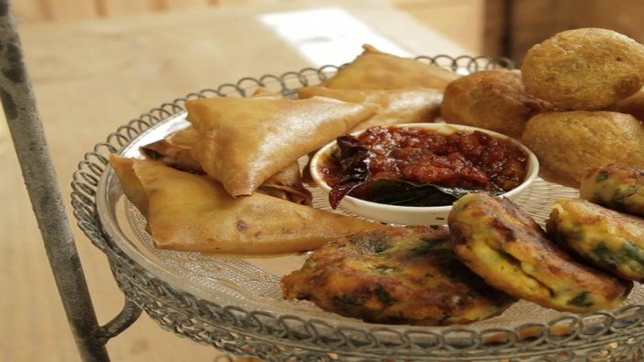 You'll find the ultimate Reza Mahammad Crab and Coconut Samosas recipe and even more incredible feasts waiting to be devoured right here on Food Network UK.