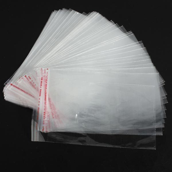 100PCS Clear Jewelry Earrings Rings Seal Plastic Packing Bag: Bid: 10,77€ Buynow Price 10,77€ Remaining Manter Até Vender Item…